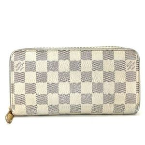 💯 Auth Louis Vuitton Damier Azur Zippy Zip Wallet
